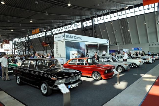 BMW примет участие в выставке ретроавтомобилей