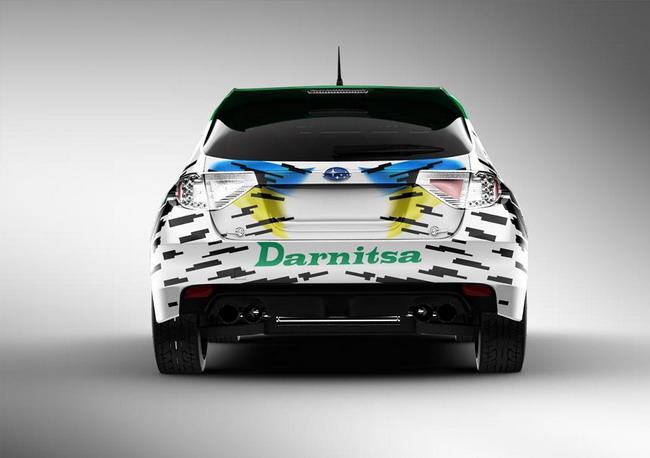 Экипаж Протасов/Несвит в серии Rally Class