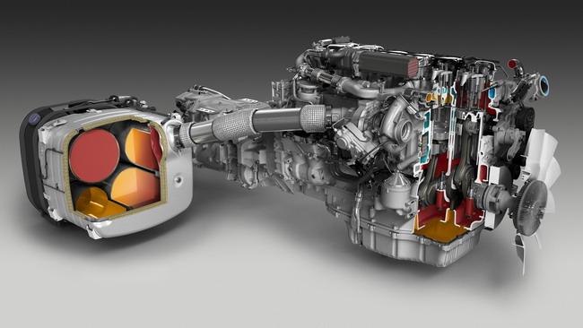 Турбодизель Scania стандарта Евро 6