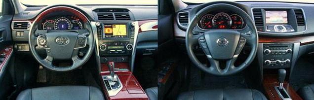 Toyota Camry vs Nissan Teana