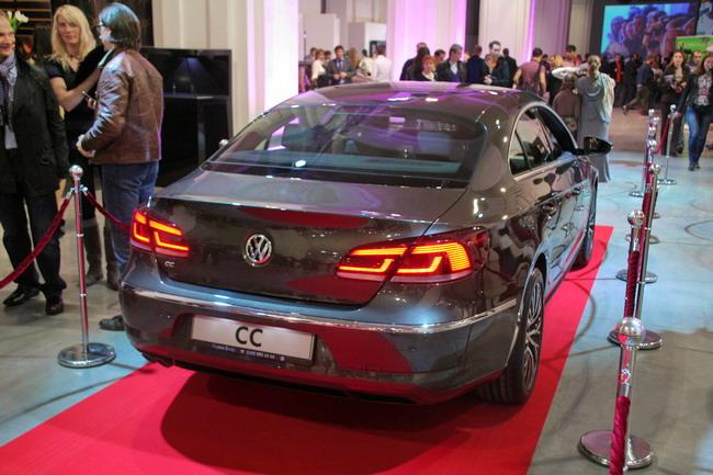 Фото нового Volkswagen CC