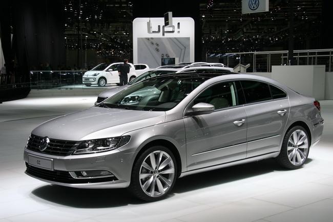 Новый Volkswagen CC