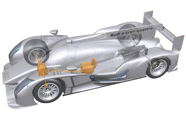 Представлен гоночный гибрид Audi R18 e-tron quattro