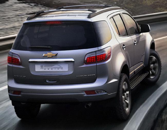 Представлен новый Chevrolet Trailblazer