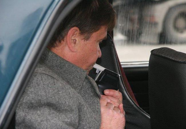 водитель в нетрезвом состоянии