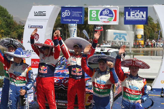 WRC, Себастьян Лоэб, Даниель Елена, Яри-Матти Латвала, Микко Хирвонен