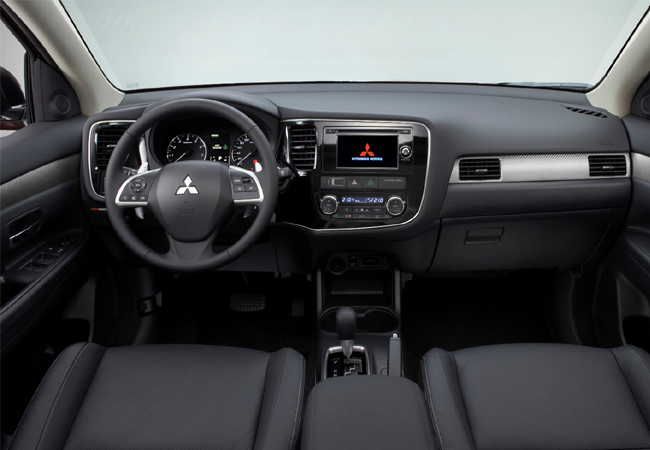 Женева 2012 Mitsubishi Outlander