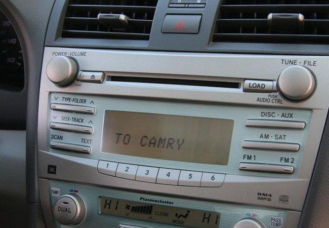 фирменный CD-ресивер Toyota Camry (40)