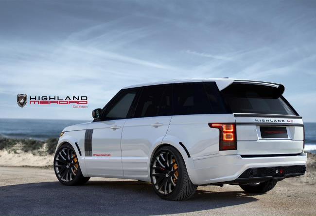Трехдверный Range Rover