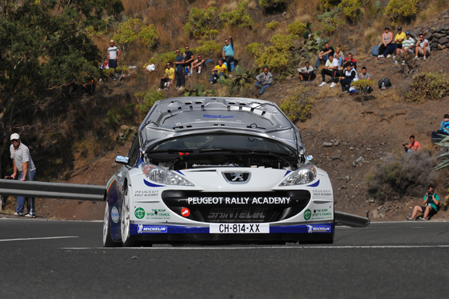 Rally Islas Canarias: фестиваль Роберта Кубицы