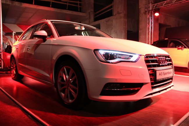 Audi A3 Sportback прилетел в Украину
