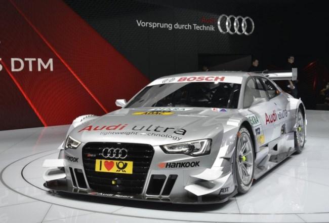 Женевский автосалон 2013: новый Audi RS5 DTM