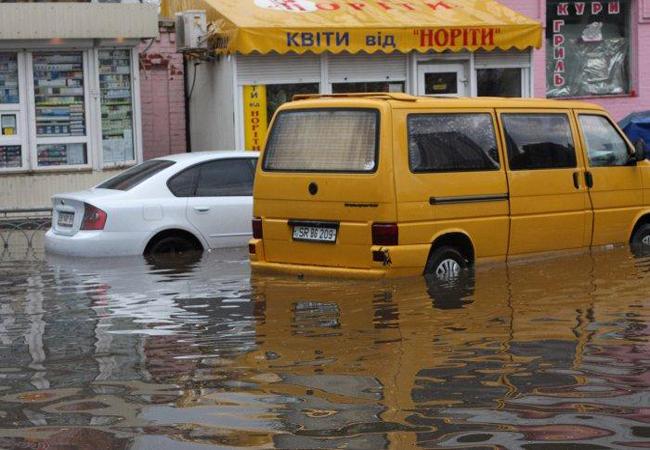 Киев ждет потоп