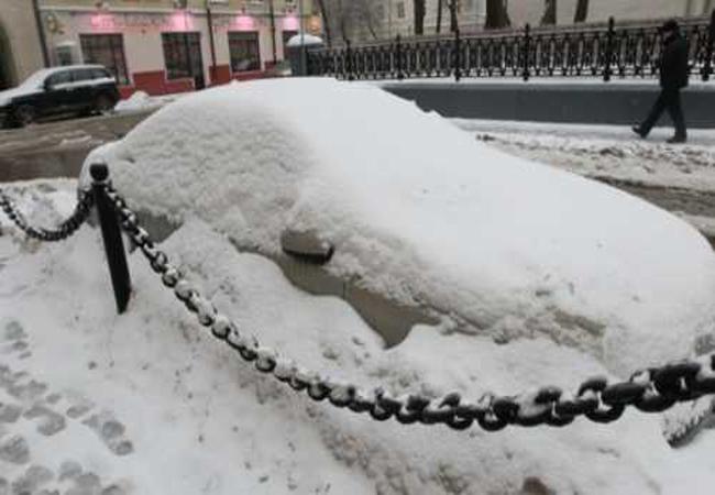 Брошенные авто в Киеве