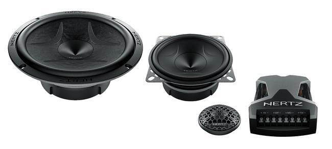 Новая акустическая система Hertz