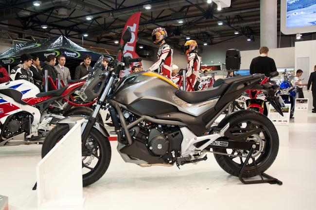 На выставке Мотобайк 2013 Honda представила пять новинок
