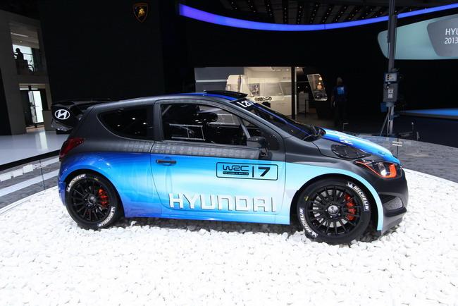 Женевский автосалон 2013: Hyundai i20 WRC