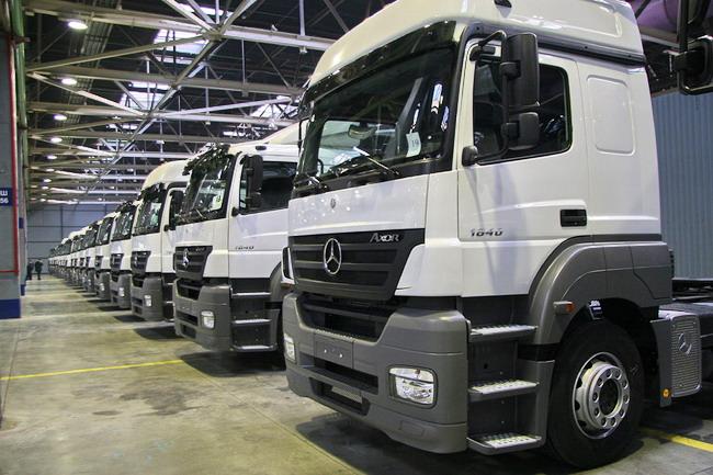Daimler торгуется за долю в «КамАЗе»
