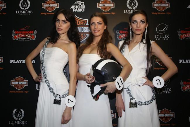 Mисс Harley Davidson 2013 в Киеве