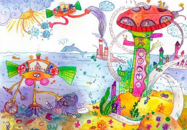 Национальный конкурс детского рисунка «Автомобиль твоей мечты»