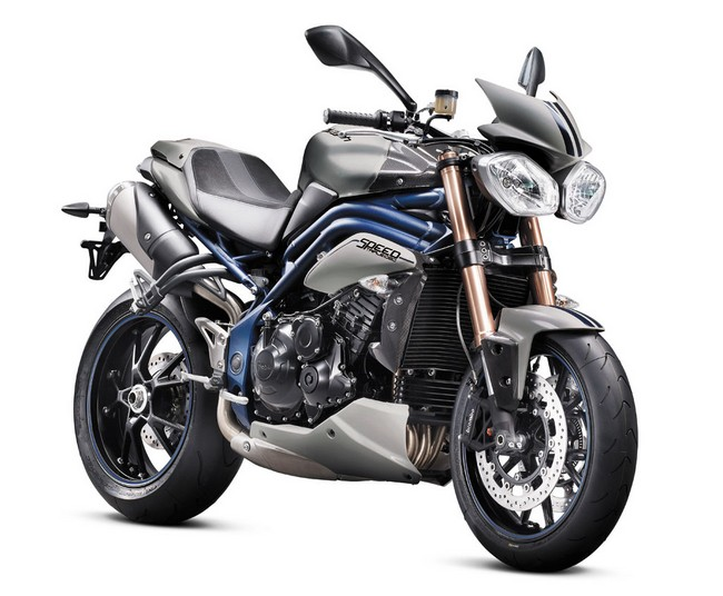 Мотоциклы Triumph Bonneville и Speed Triple