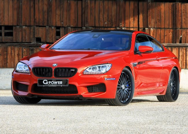 Тюнинг купе BMW M6 от G-Power