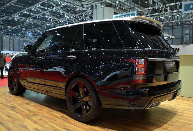 Женевский автосалон 2013: фото Startech Range Rover