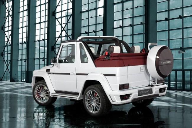 Автосалон в Женеве 2013: Внедорожник-кабриолет Mansory Speranza