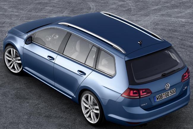 Автосалон в Женеве 2013: Универсал Volkswagen Golf