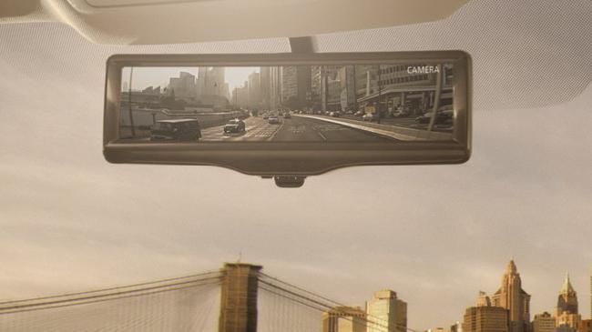 системы Smart rearview mirror: придумали «усное» зеркало заднего вида