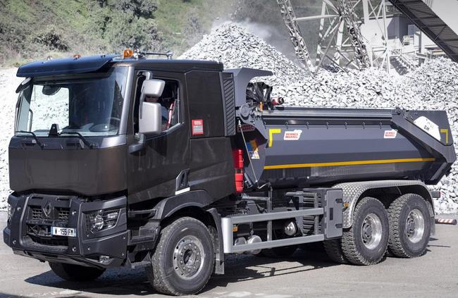 Cтроительные грузовики Renault