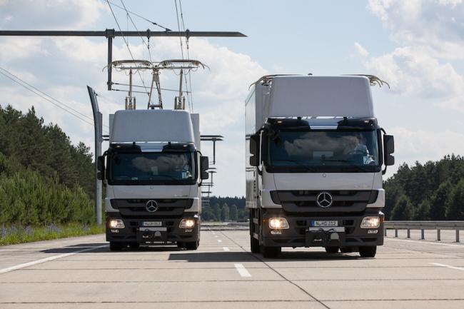 Экологически чистые грузовики Siemens