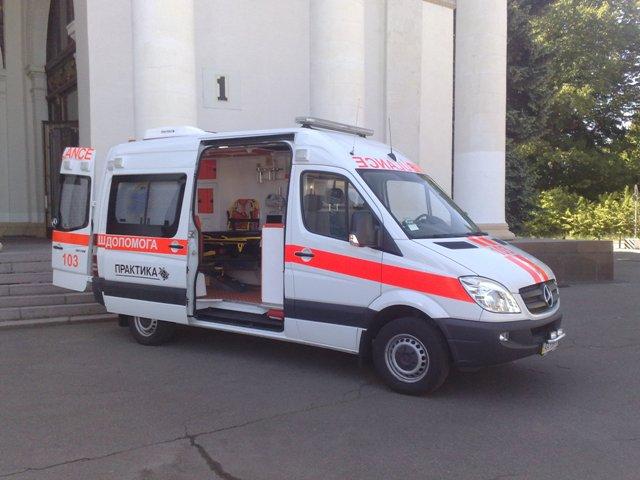 Автомобиль скорой помощи класса С на базе Mercedes Sprinter