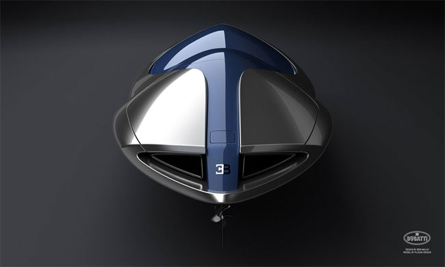 Bugatti Veyron Sang Bleu speedboat