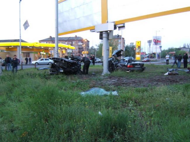 ДТП на ул. Гагарина в Киеве