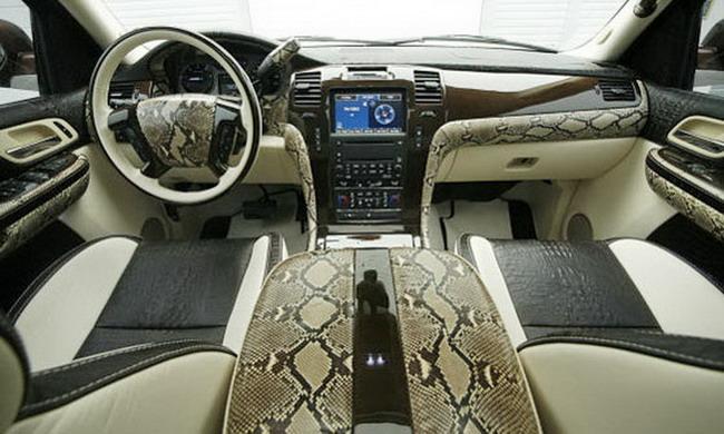 В FAB Design сделали уникальный Cadillac Escalade