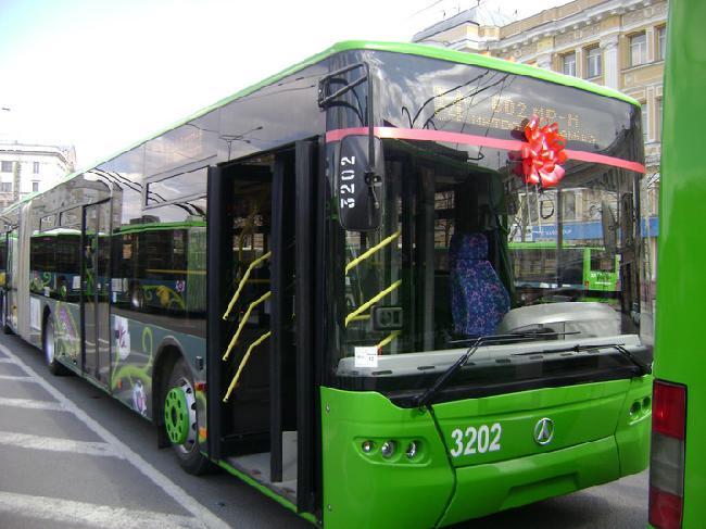 новые троллейбусы к Евро-2012