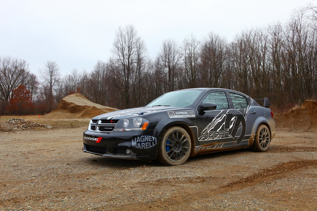 Dodge Avenger Mopar Magneti Marelli rally car