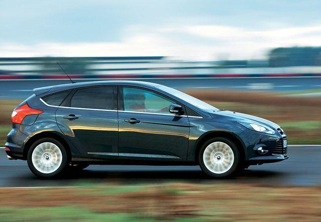 Новый Ford Focus против Opel Astra и VW Golf