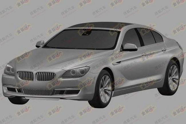 первые скетчи серийной четырёхдверки BMW 6-Series GT