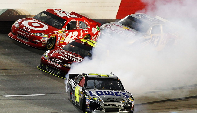NASCAR: Дарлингтон-2011, победа Регана Смита