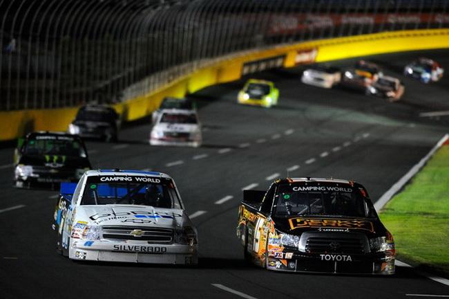 Дебют Кими Райкконена в NASCAR, Шарлотт