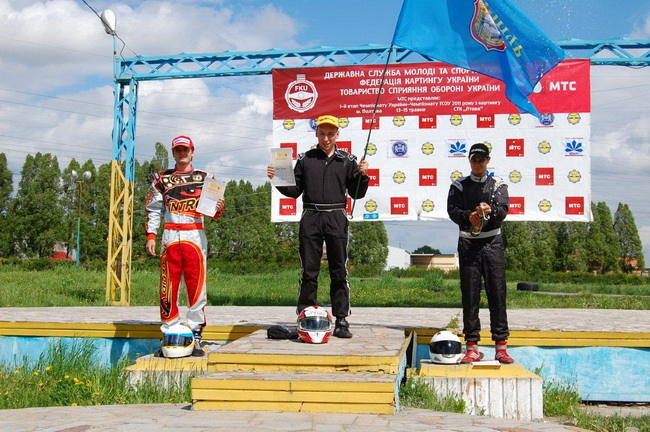 Чемпионат Украины по картингу, 1-й этап, Полтава