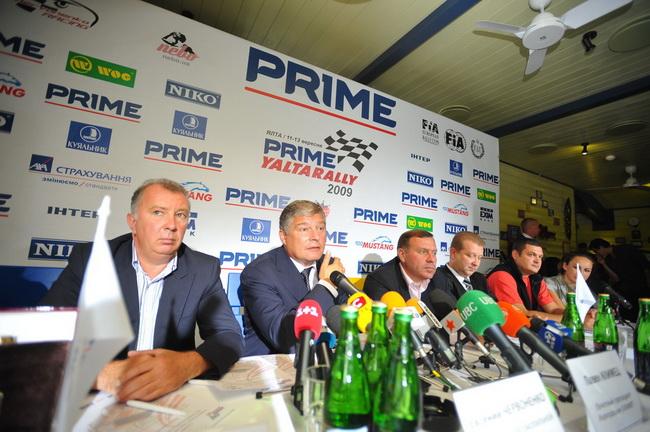 Пресс-кнференции на Prime Yalta Rally