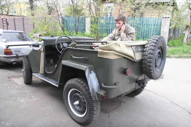 Утилитарный внедорожник ГАЗ-67