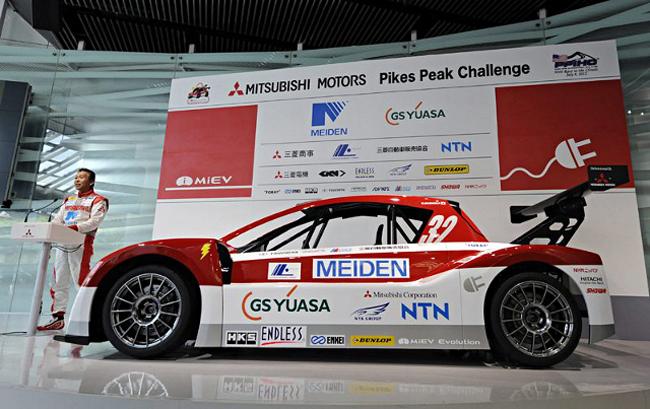 Электрический спорткар i-MiEV