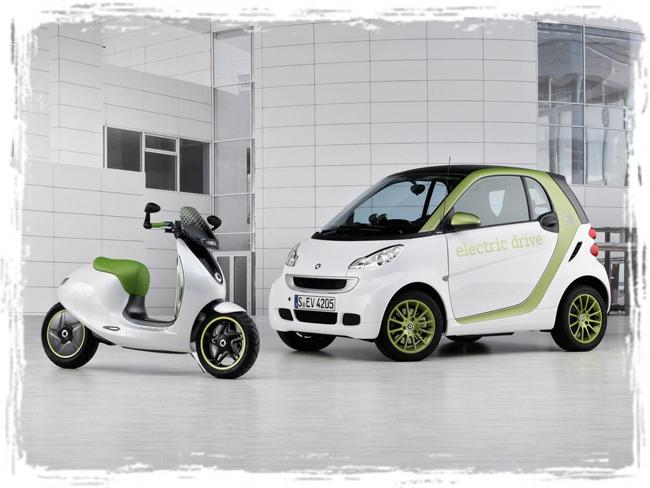 электроскутер Smart Escooter