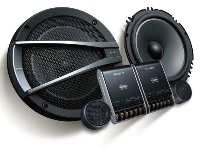 Новая автомобильная акустика Sony