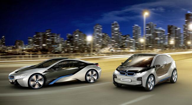 Новые электромобили BMW