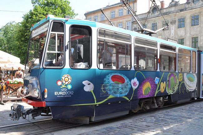 Новые трамваи в Киеве